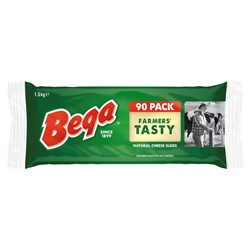 CHEESE TASTY SLICES 1.5KG(8) #3002002 BEGA