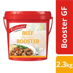 BOOSTER BEEF GF 2.3KG(6) #20229787 CONTINENTAL