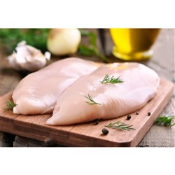 CHICKEN BREAST FILLETS SKINLESS FROZEN (6 X 2KG) FINCO