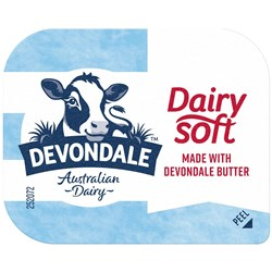BUTTER PC DAIRY SOFT (200 X 7GM) DEVONDALE