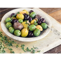 OLIVES ECO MIX LIGURN, SICIL, Q GREEN,BLACK MAMMOTH 2KG(4) #2ECOMIX ELEGRE