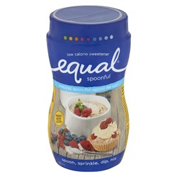EQUAL SWEETENER SPOONFUL 1KG #173159 EQUAL