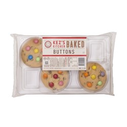 BISCUIT BAKED BUTTONS SMARTIE 8 X 55GM(3) #B113-440-3 KEZ'S