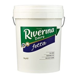 CHEESE FETTA FULL CREAM 13KG #101138 RIVERINA