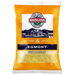 CHEESE EGMONT SHRED 2KG(6) #3000870 MAINLAND