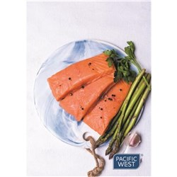 FISH SALMON PORTIONS SKINLESS (APPROX 200GM) 5KG