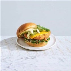 BURGER CHICKEN BUTTERMILK CRUNCH 1KG(6) #54261 STEGGLES