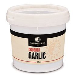 GARLIC CRUSHED FRESH 1KG(6) #GAR1 SANDHURST