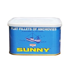 ANCHOVY FILLETS 730GM(12) SUNNY ITALY