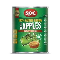 APPLE DICED GRANNY SMITH A10(3) SPC