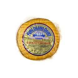 CHEESE CHEDDAR SMOKED (6 X 170GM) #6592 STOKES POINT