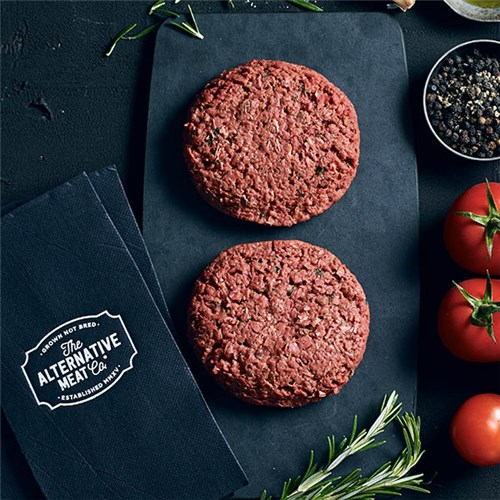 BURGER PLANT BASED (36 X 120GM) #1700023 ALT MEAT CO