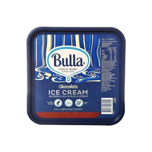 ICECREAM CHOCOLATE 10LT BULLA