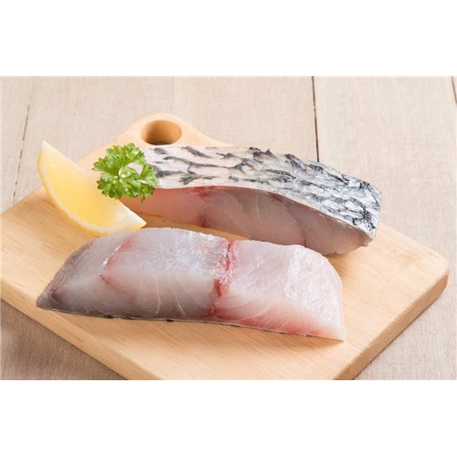 FISH BARRAMUNDI PORTION S/ON 190/210GM 5KG