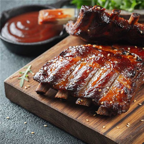 LAMB RIBLETS COOKED R/W #8013000 GLOBAL MEATS