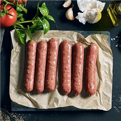 SAUSAGE PLANT BASED 400GM (6) #1700024 ALT MEAT CO