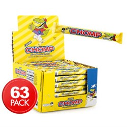 CHOCOLATE BAR CHOMP WAFER (63 X 30GM)(4)