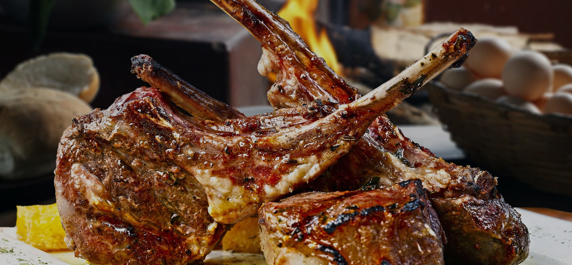 Image of lamb cutlets cooked