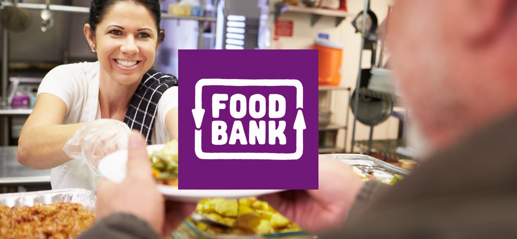 Photo is of the Food Bank organisation logo