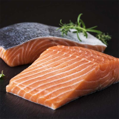FISH SALMON PORTIONS SKIN ON (25 X 200GM) 5KG